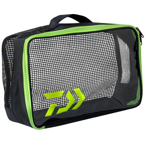 Daiwa PVC Clear Pouch Fishing Tackle Storage Bag