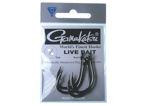 Pre Pack - Gamakatsu Live Bait Hooks