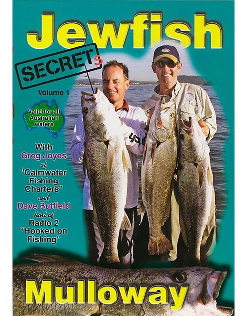 Jewfish Secrets DVD - Dave Butfield