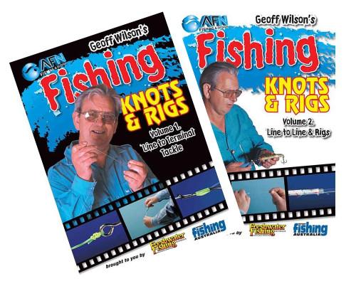 Geoff Wilson Fishing Knots and Rigs DVD 2 DVD SET
