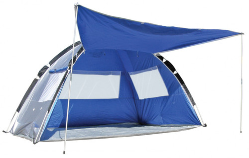Pop Up beach shelter. Beach Tent - Land and Sea