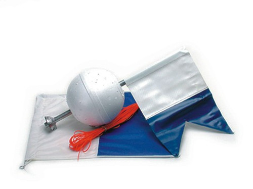 divers Flag and float
