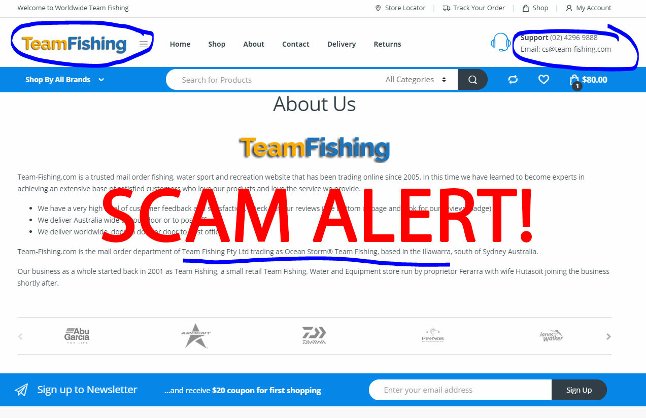Team-Fishing SCAM Exposed!