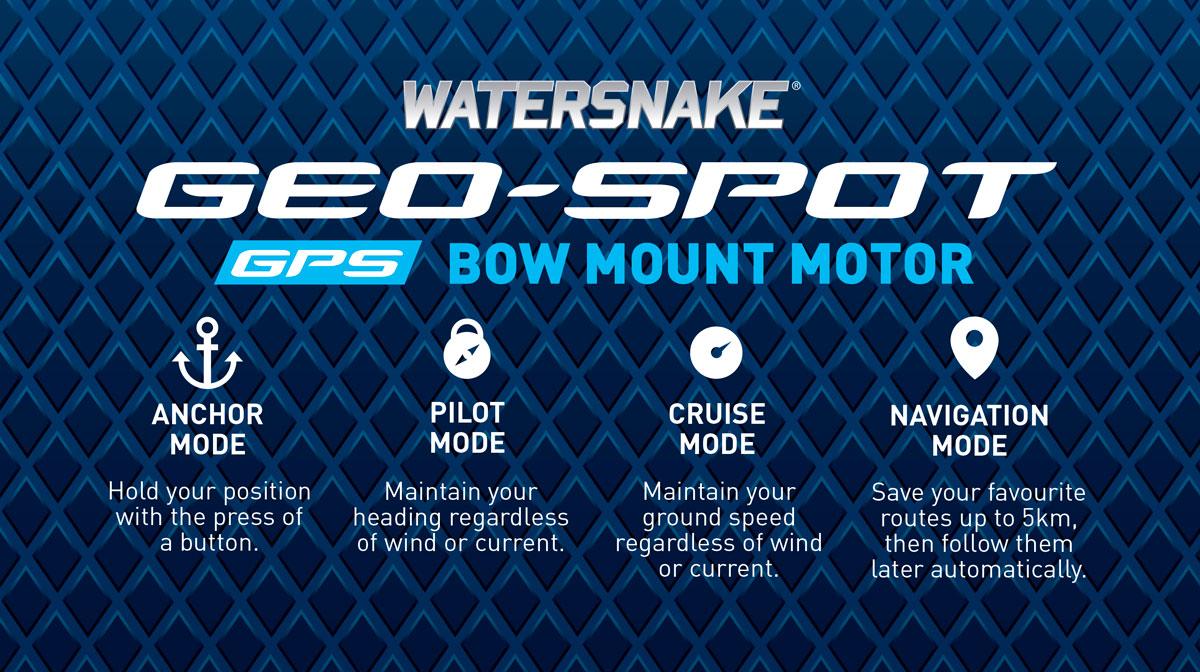 Watersnake Geo Spot Motor Info