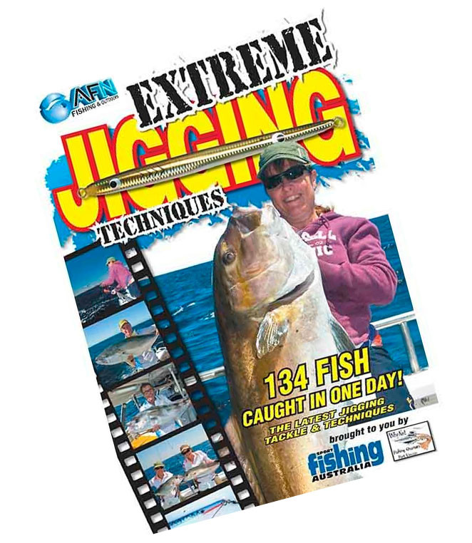 Image of AFN Extreme Jigging Techniques Fishing DVD