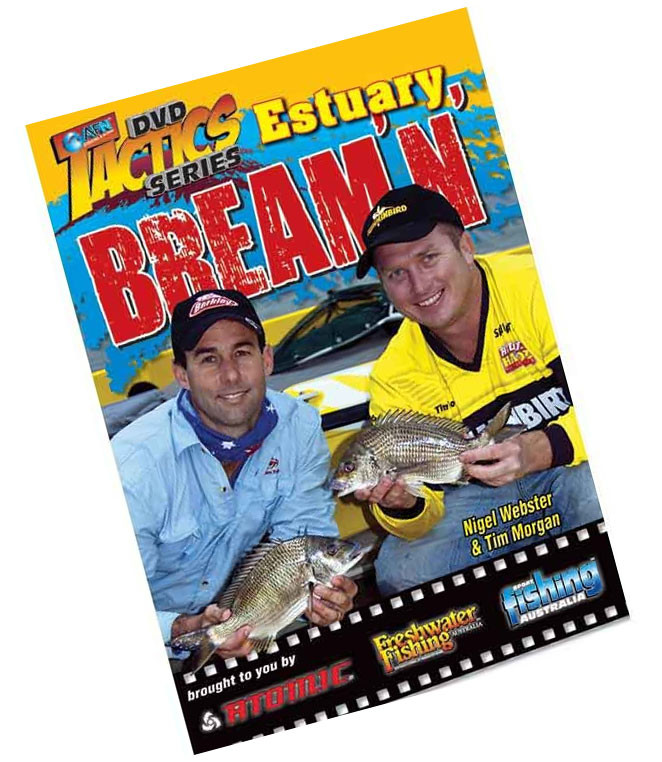 Image of AFN Estuary Bream'n Tactics DVD