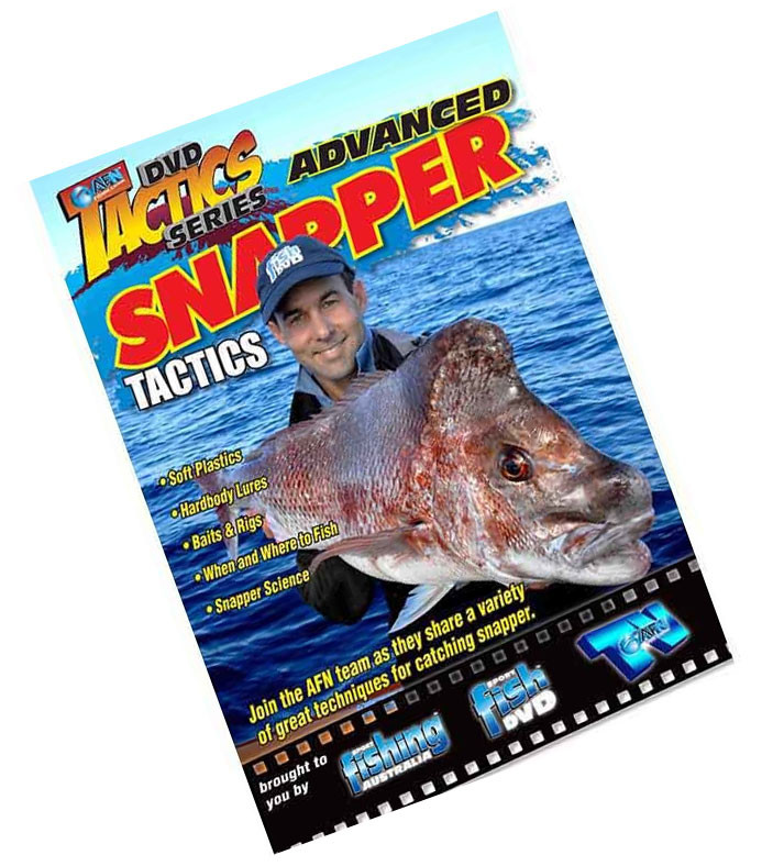 Image of AFN Advanced Snapper Tactics Fishing DVD