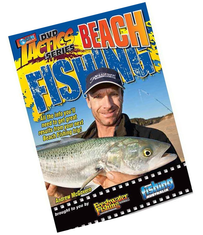 Image of AFN Beach Fishing Tactics Fishing DVD
