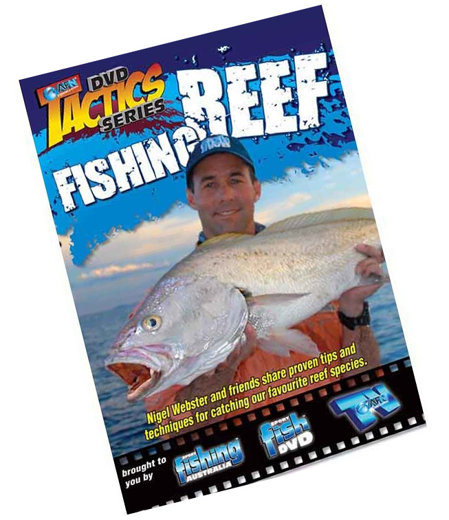 Image of AFN Reef Fishing Tactics Fishing DVD