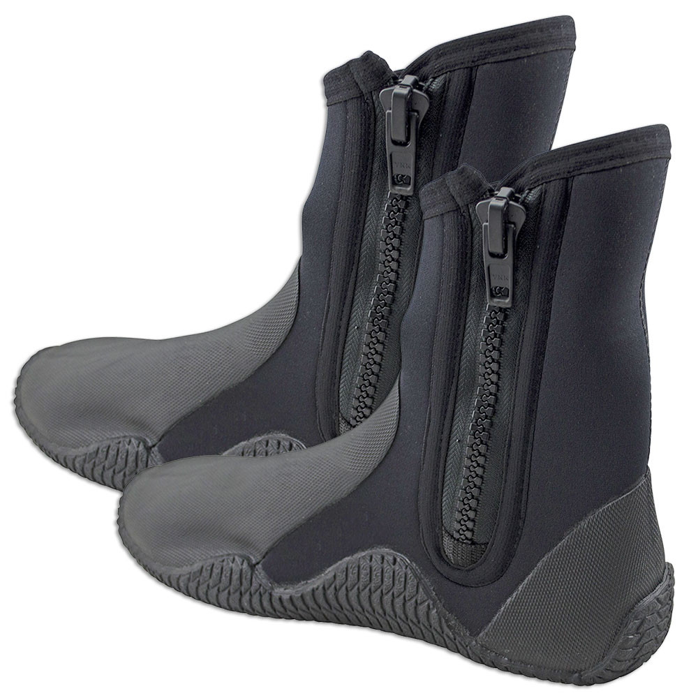 Image of Adrenalin 5mm Neoprene Zip Dive Boots