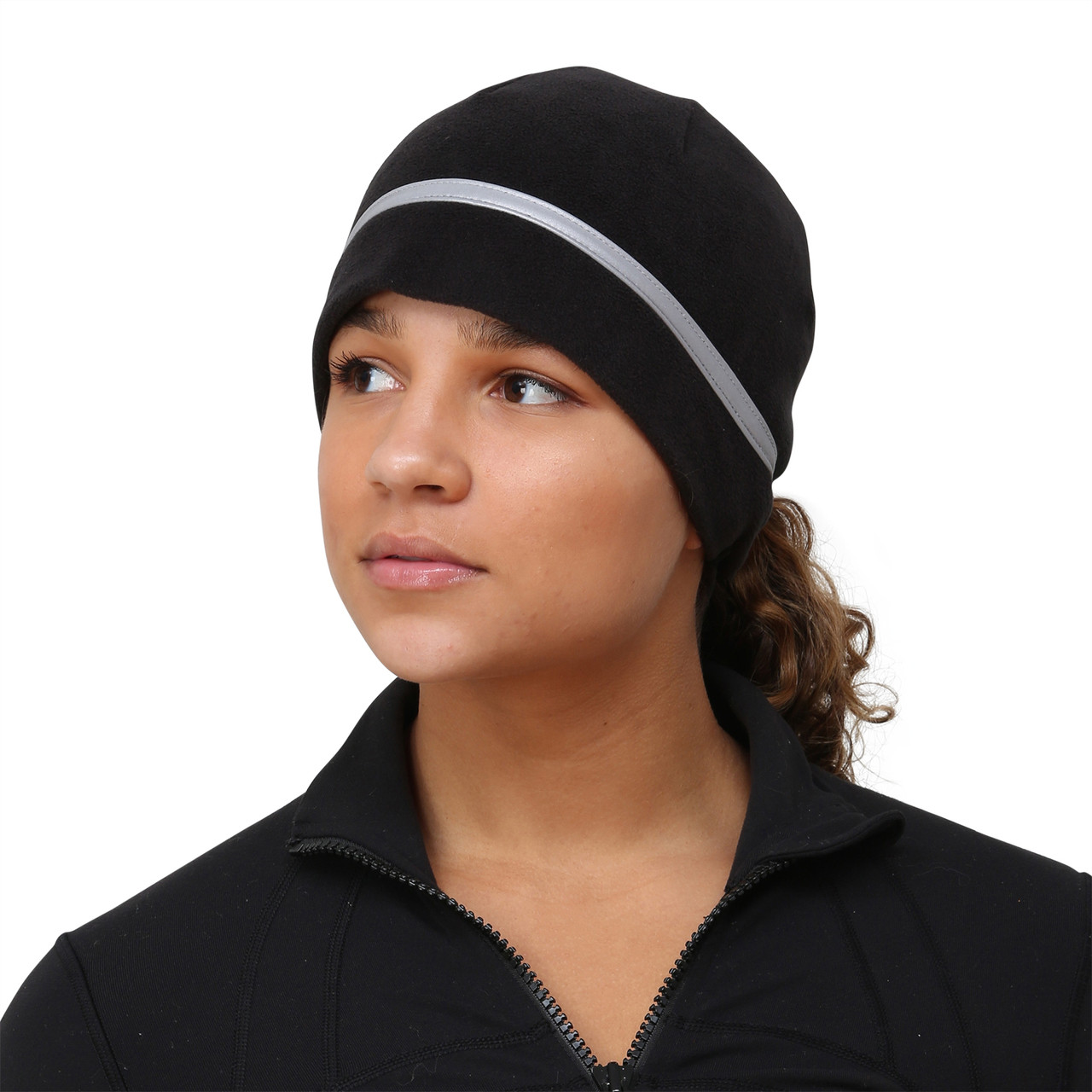 Womens winter Running hat with ponytail hole,7 colours,2 working days delivery