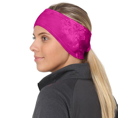 pink splash TrailHeads Women/'s Print Ponytail Headband