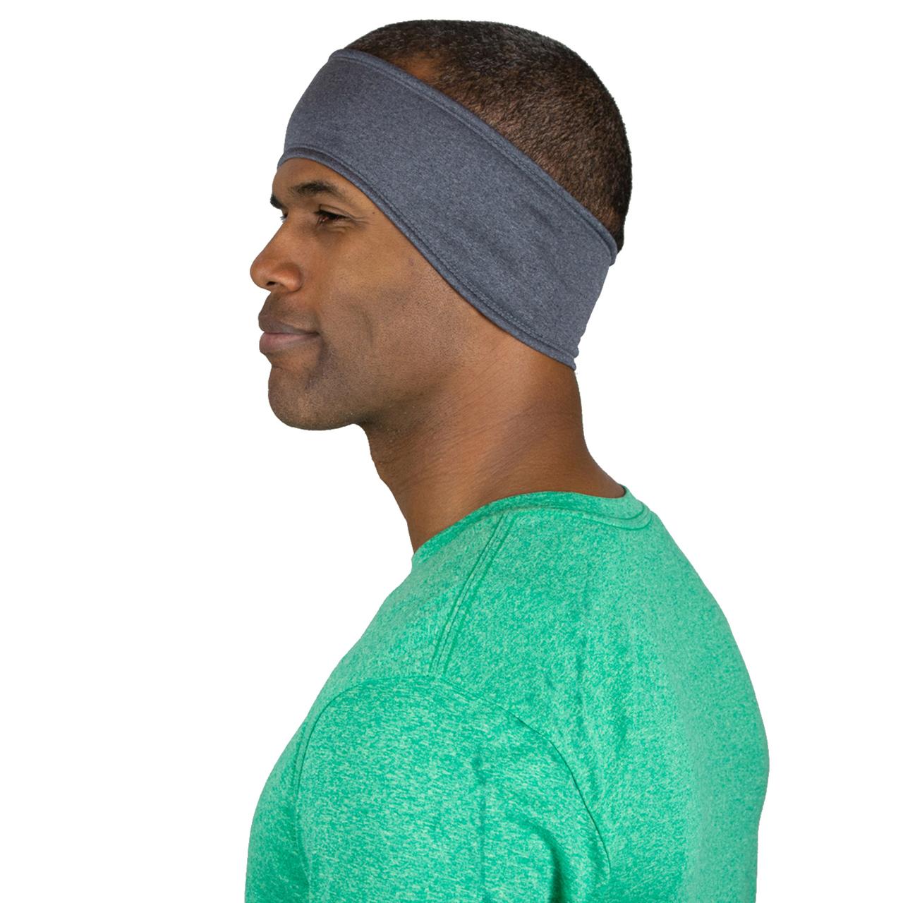 a76d617c ... Winter Running Headband with Moisture Wicking Fabric · heather grey