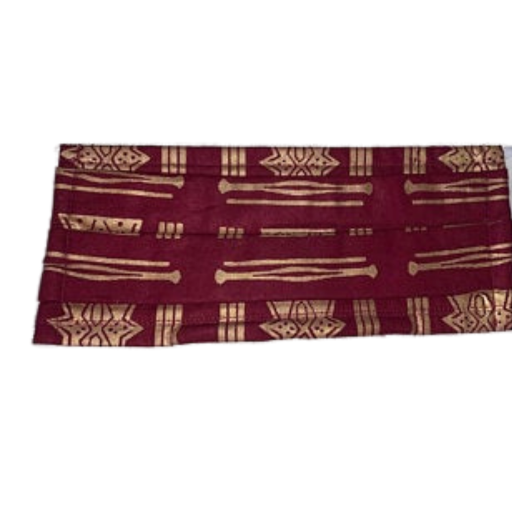 African Print - Multi Layer Cotton Face Mask, Washable and Reusable
