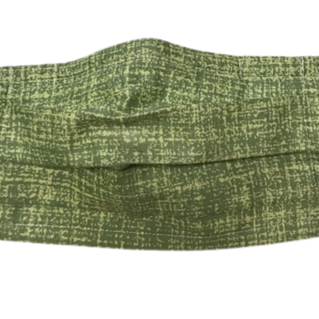 Foresty Green - Multi Layer Cotton Face Mask, Washable and Reusable
