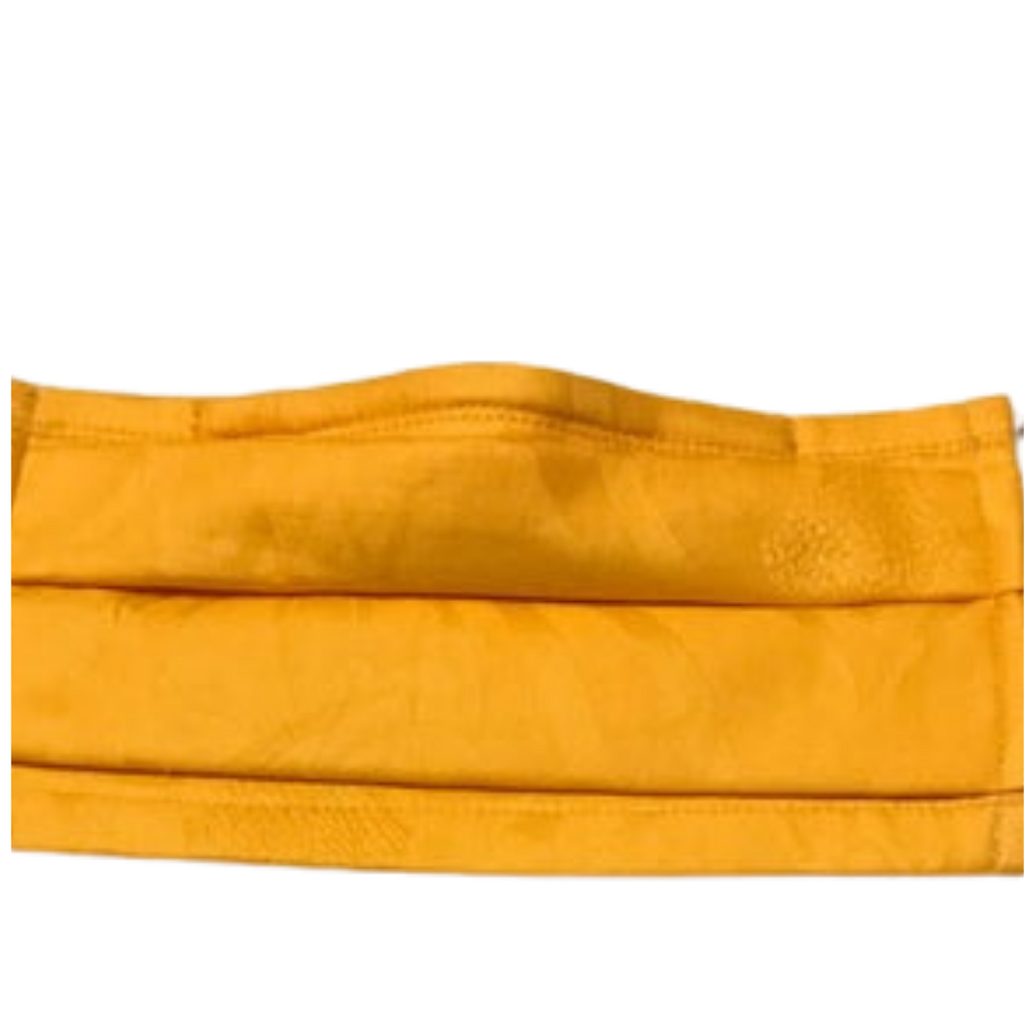 Gold Glamour- Multi Layer Cotton Face Mask, Washable and Reusable