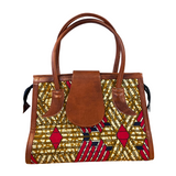 Premium Handmade African Print Handbag  (HB06)