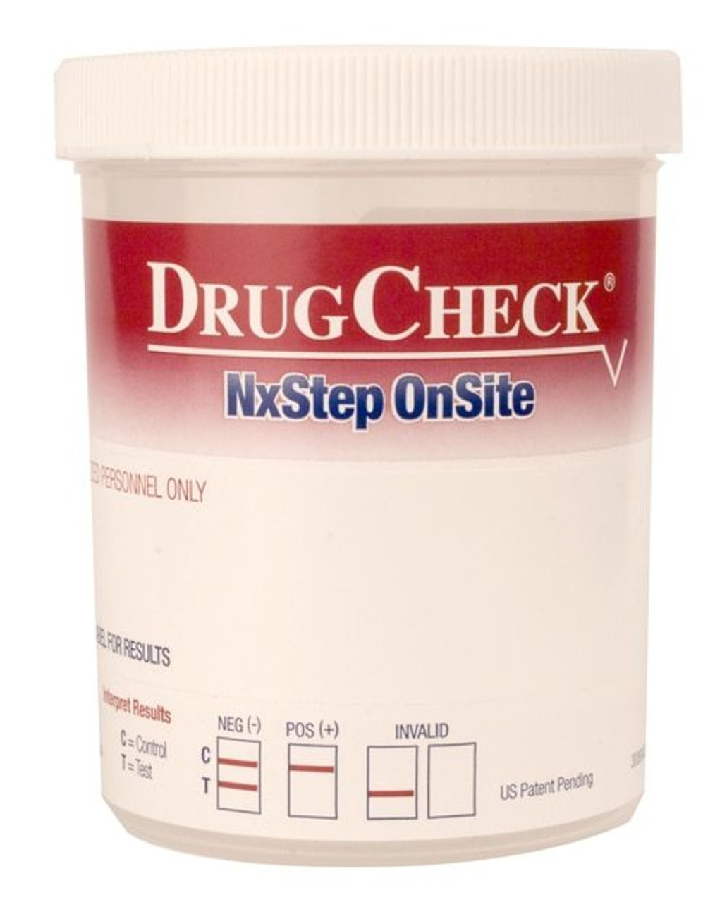 DrugCheck Cup - 12  panel with Privacy Label
