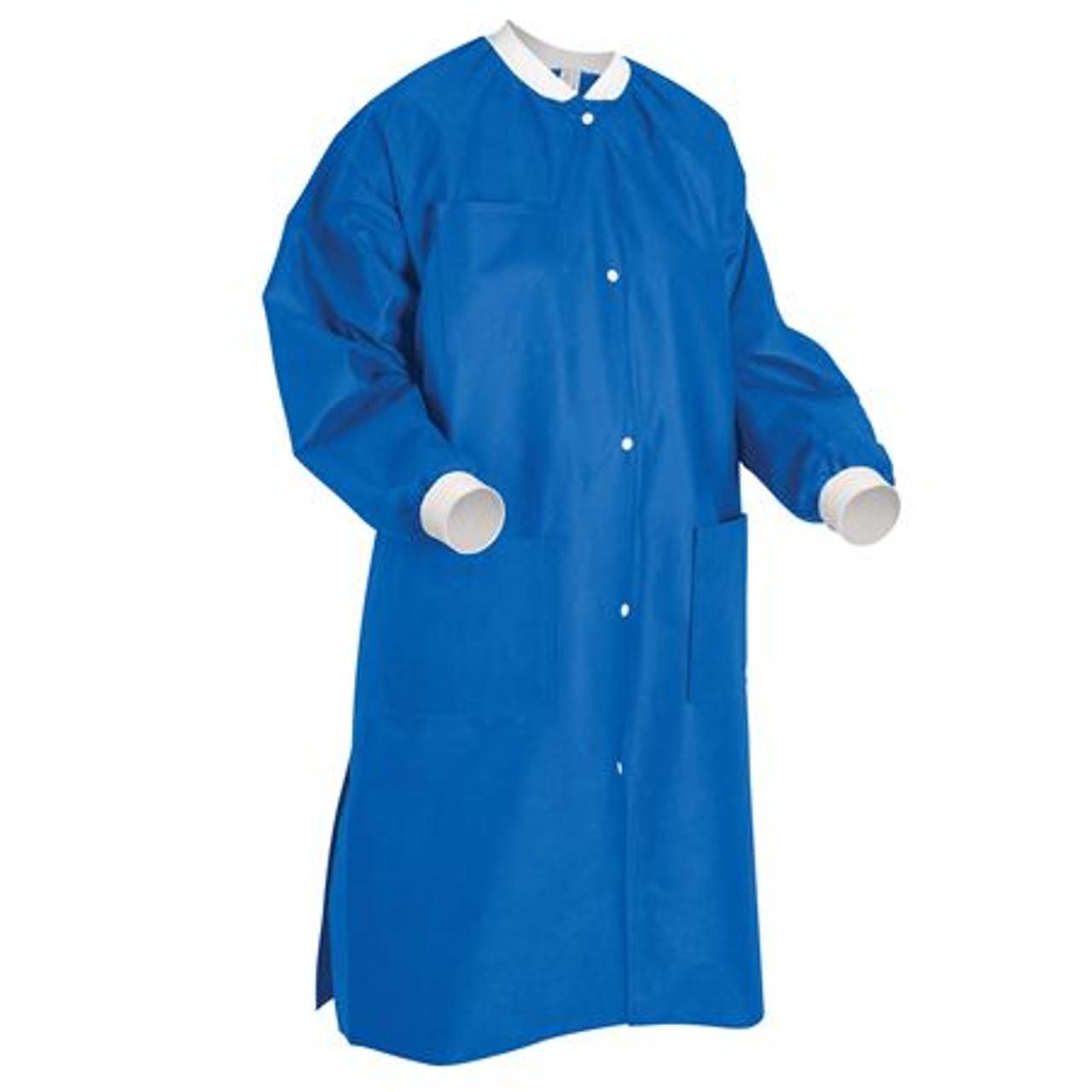 ValuMax Lab Coat Royal Blue
