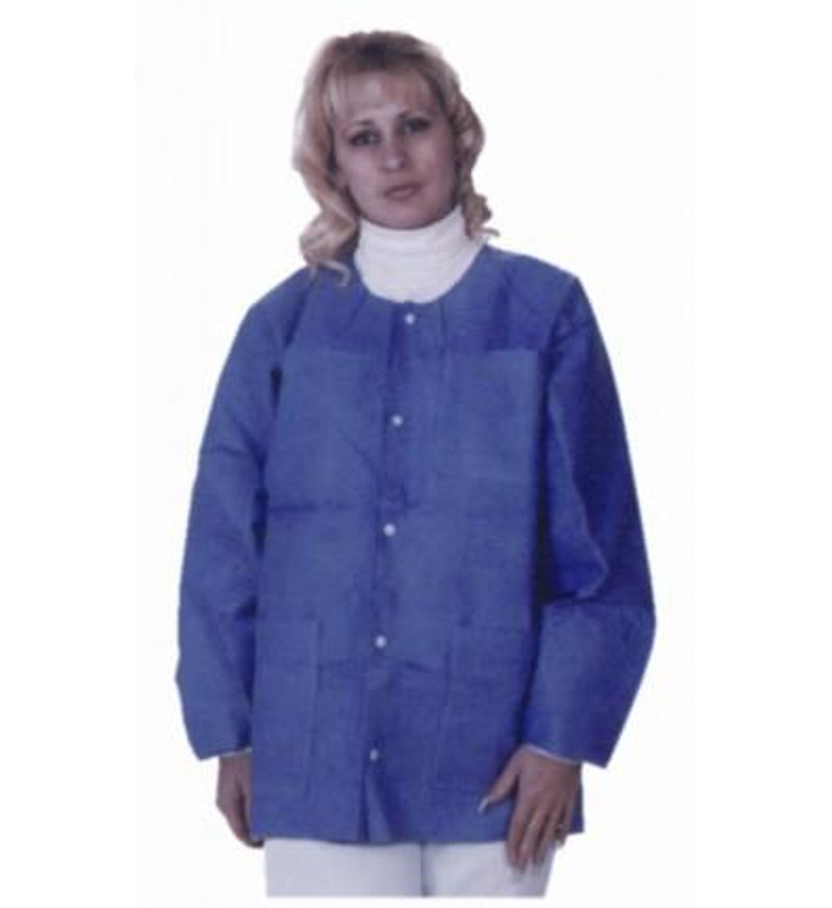 ValuMax SMS Lab Jacket Hip Length Blueberry