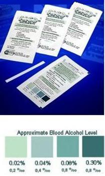 Alco-Screen Saliva Alcohol Test 24 per Box