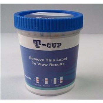 TCup 14 panel drug test cup with adulterants