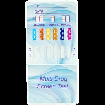 Healgen Scientific 9 Panel CLIA Waived Dip Card Drug Test