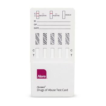 Abbott iScreen® 10-Panel Rapid Dip Drug Test Card