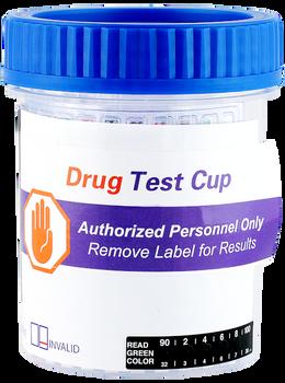 16 panel drug test cup with 4 forensic drug tests