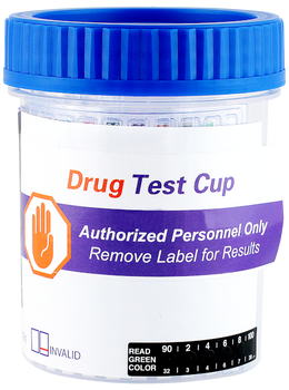 14 Panel Drug Test Screening Cup with EtG Fentanyl K2 and Tramadol + Adulterants