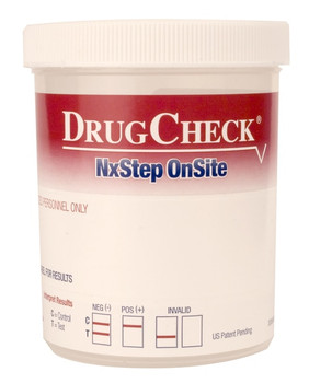 DrugCheck Cup - 6 panel - 60600 with Privacy Label