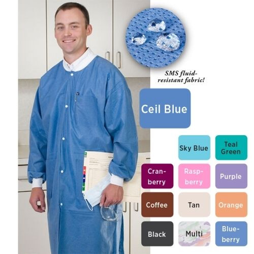 ValuMax Lab Coats Various Colors from XS to 5X-LG
