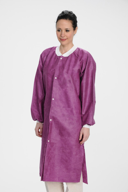ValuMax Lab Coat Purple
