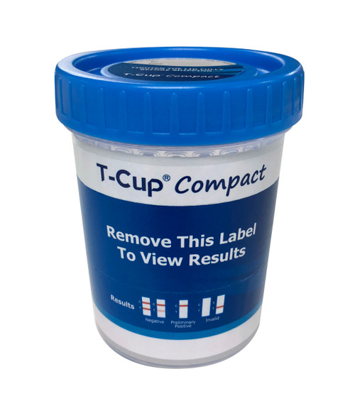T-Cup  Compact 12 Panel  CLIA Waived  Instant Drug Test Cup with EtG, FYL +3AD