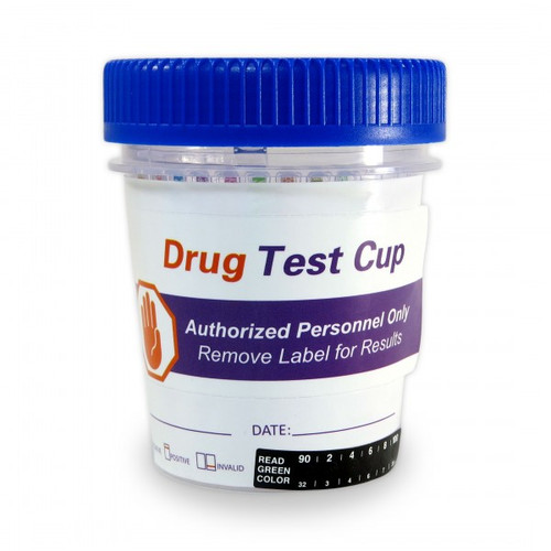 Healgen Scientific 5 Panel Drug Test Tapered Cup CLIA Waived