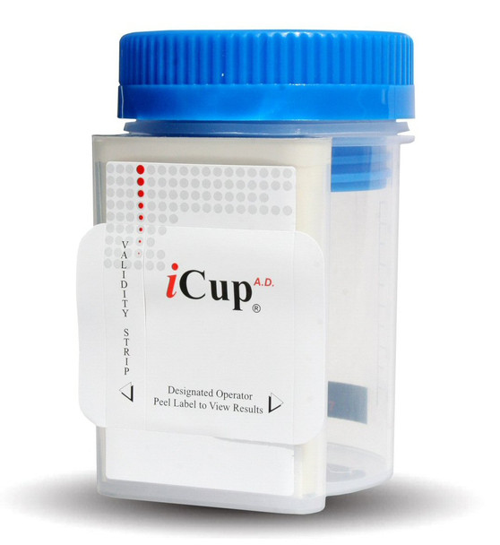 iCup  5 Panel Abbott / Alere Diagnostics Rapid Drug Test Cup with Specimen Validity