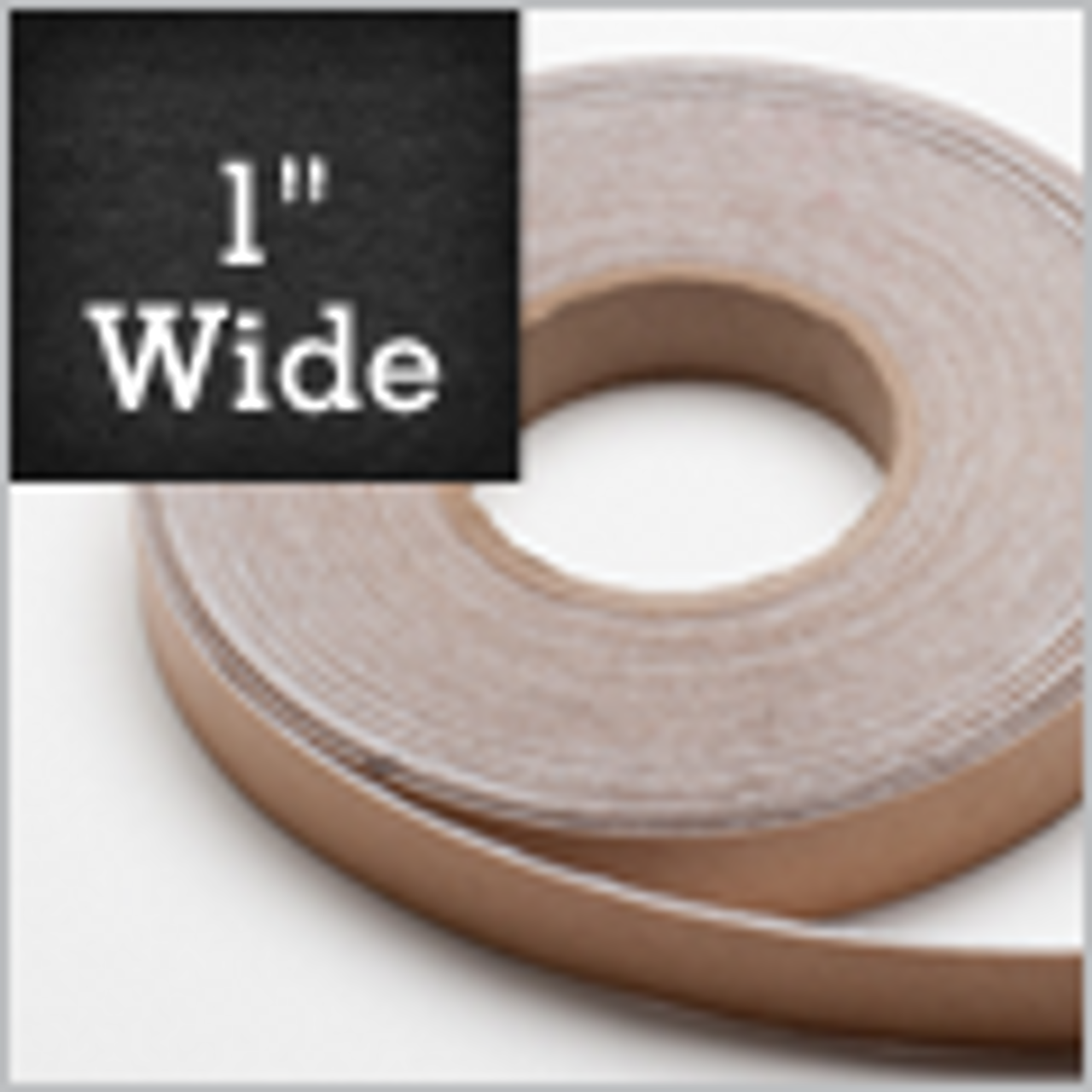 "White Felt Stripping 1"" Wide, Adhesive Backed"