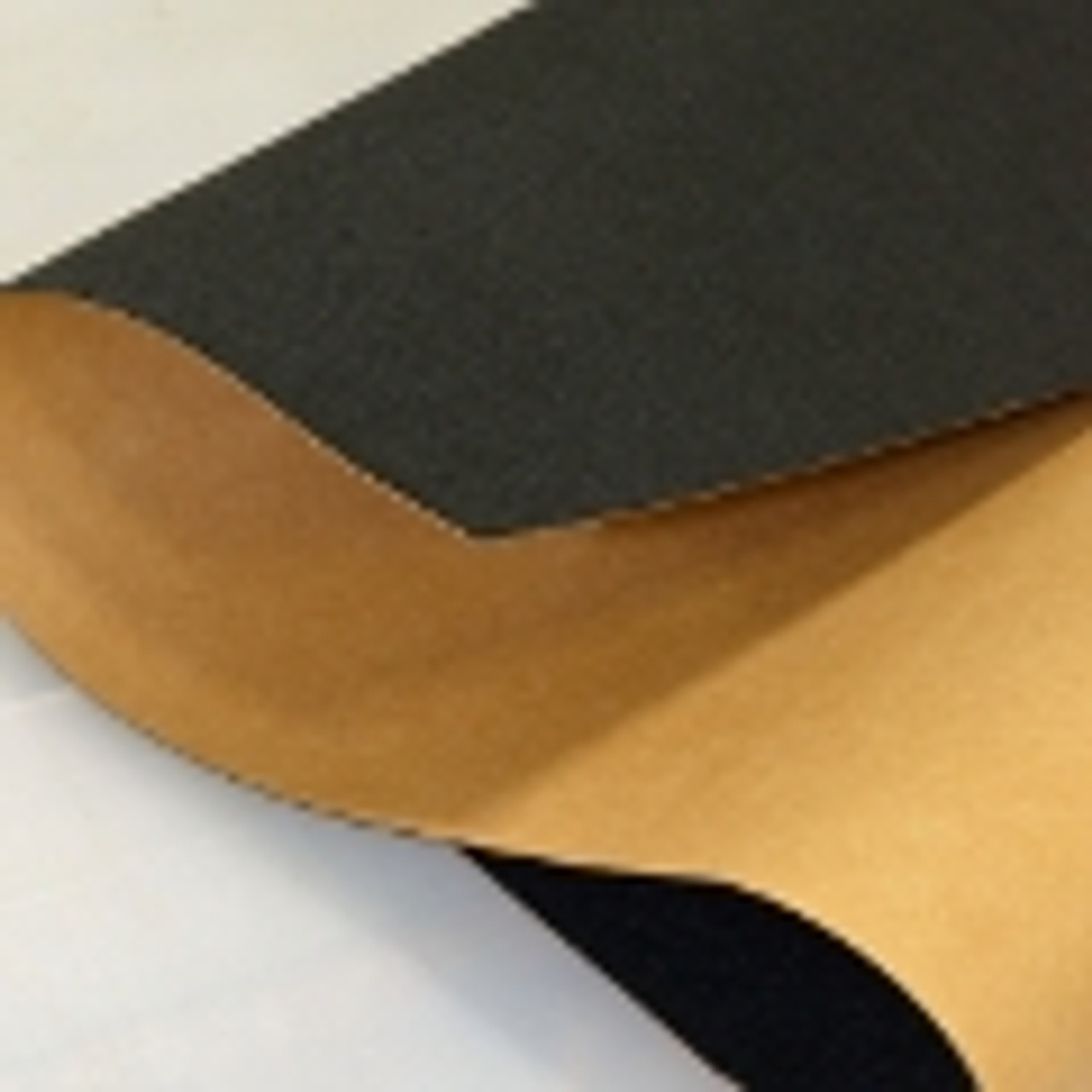 Black Polyester, Adhesive Backed