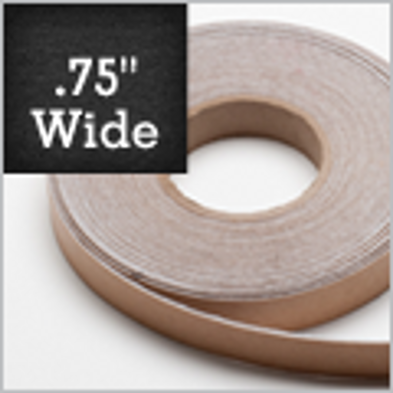 "White Felt Stripping 3/4"" Wide, Adhesive Backed"