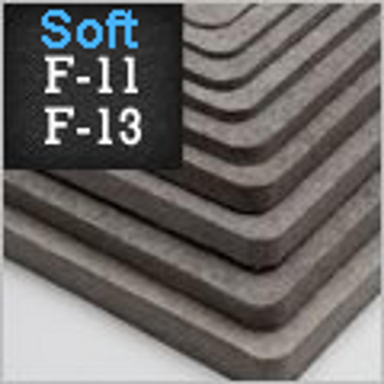 F-11/13 SAE Wool Felt, Gray