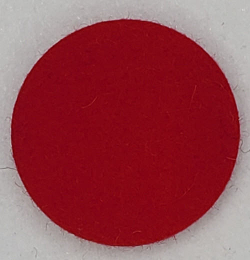 """Pure-Felt Cardinal Red, 1/8"""" Thick x 60"""" Wide"""