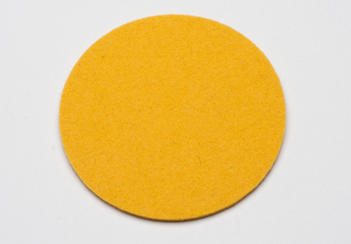 Felt Coasters, Marigold