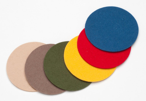 Felt Coasters, Combo Pack (1 of each color)