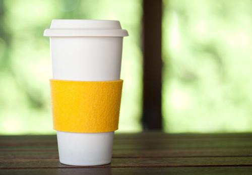 Felt Coffee Sleeves, Marigold