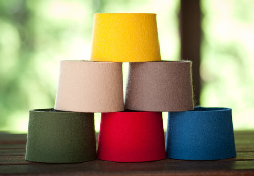 Felt Coffee Sleeves, Combo Pack (1 of each color)