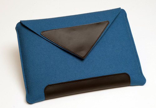 "15"" Felt Laptop Sleeve, Denim Blue"