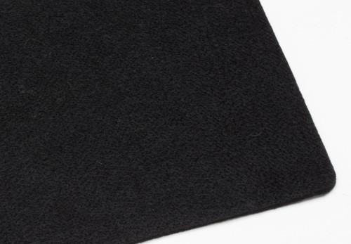 "Black Polyester 6mm (.236"") Thick x 60"" Wide, Firm Density (48oz per sq yard) - 5 Yard Minimum"