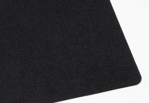 "Black Polyester 3mm (.118"") Thick x 60"" Wide, Medium Density (20.06oz per sq yard) - 5 Yard Minimum"