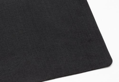 "Black Polyester 2mm (.078"") Thick x 60"" Wide, Medium Density (11.8 oz per sq yard) - 15 Yard Minimum"