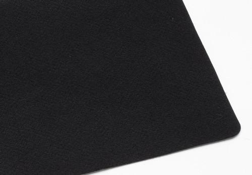 "Black Polyester 1.5mm (.059"") Thick x 60"" Wide, Medium Density (10.03oz per sq yard) - 10 Yard Minimum"